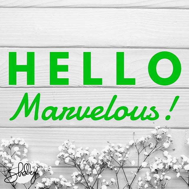 Have a marvelous day 💚  #shelleyskincare  #marvelous