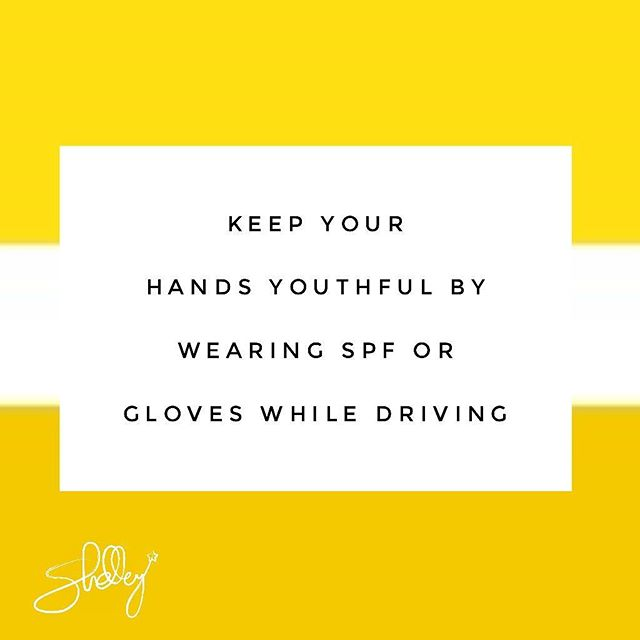 Our poor hands, they take such a beating. Protect them from the sun whenever you can.  #drivinggloves #driving