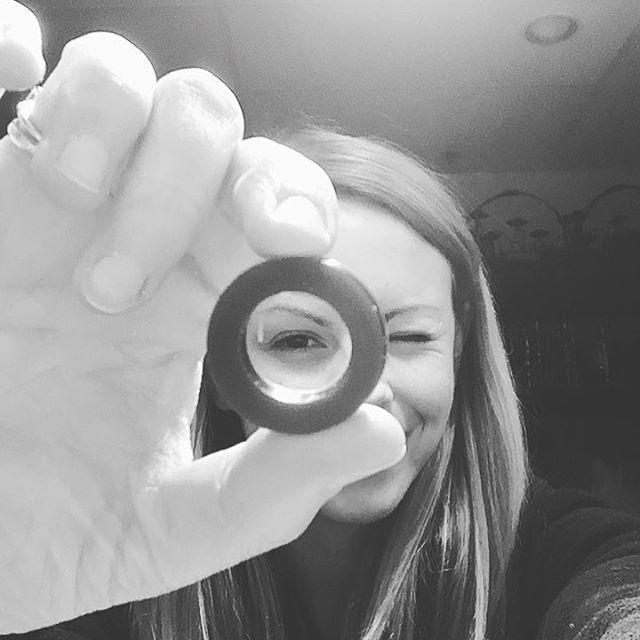 Peekaboo. Carving rings today in wax. . . . . . . . #lostwaxcasting #artist #artisan #rings #jewelry #bts #behindthescenes