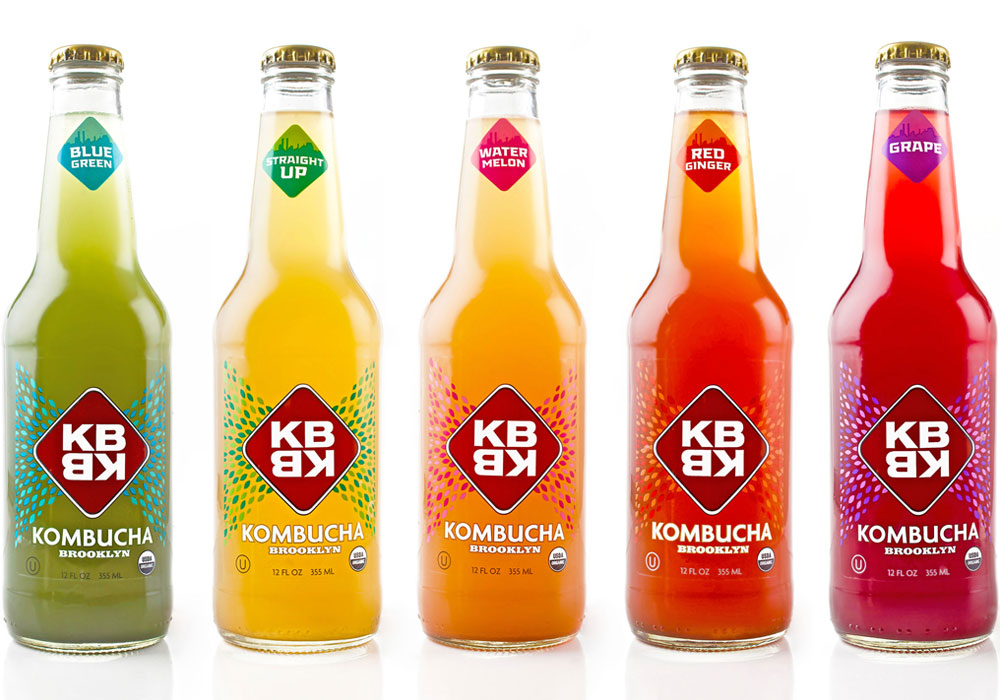 Packaging Design  KBBK Bottled Kombucha