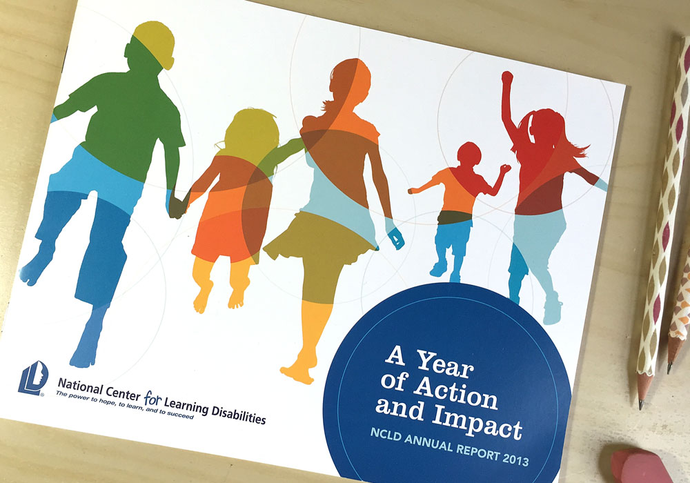 Annual Report Design National Center for Learning Disabilities