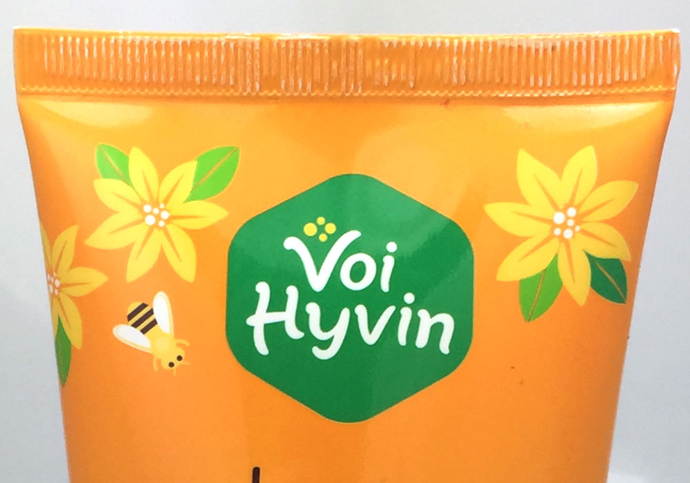 Packaging Design Voi Hyvin Organic Honey