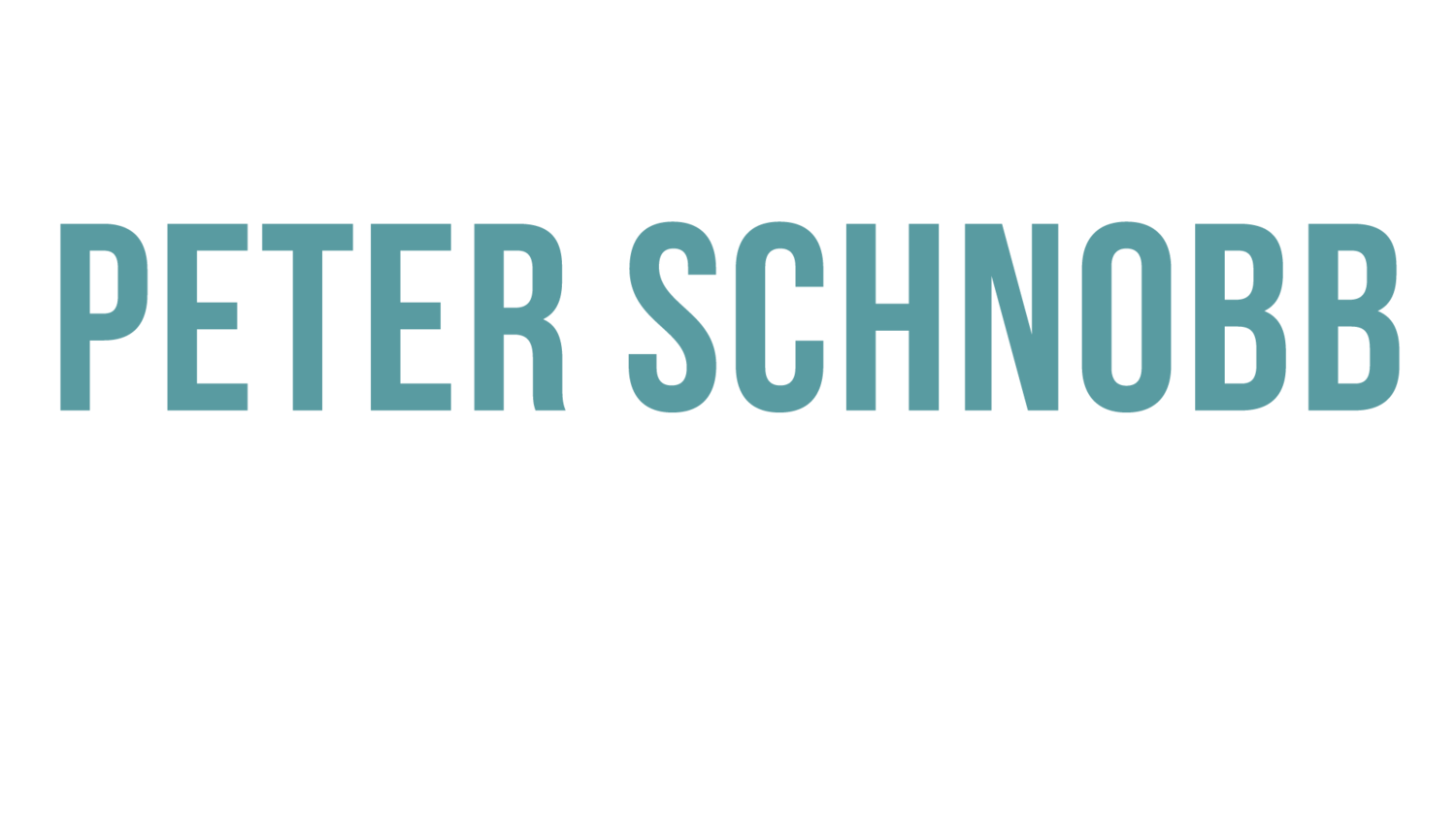 Peter Schnobb CINEMATOGRAPHER