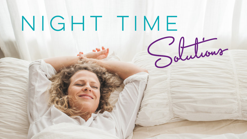 Download your night time sleep solution steps here