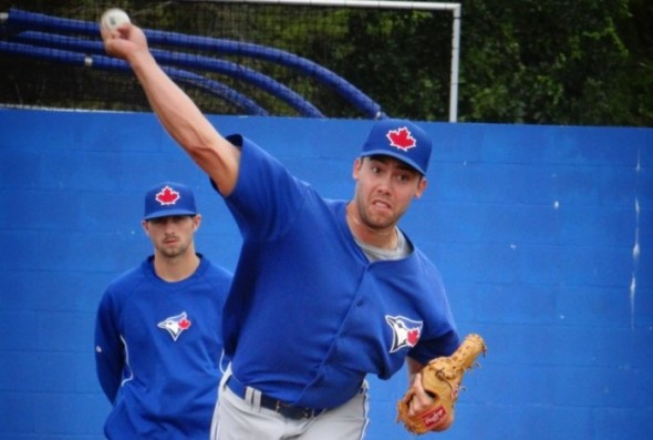 In this week's ThrowinSmoke column, Melissa Couto writes about Blue Jays prospect Tom Robson, who is headed for Tommy John surgery, Rockies 1B Justin Morneau, who is headed to the home run derby, and LHP Scott Diamond, who has been released by the Minnesota Twins. (Photo: Eddie Michels)