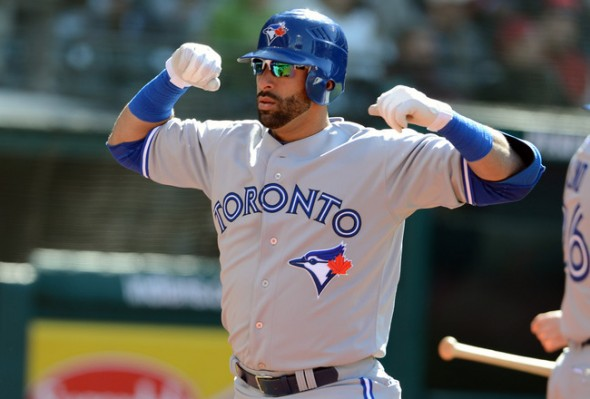 Carlos Delgado and George Bell, both former Silver Slugger winners will be at the Roger Centre Monday night for the home opener to present Jose Bautista his third Silver Slugger honor.