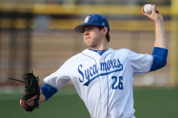 LHP Jeff Degano (Surrey, BC) of the Indiana State Sycamores was named to the National College Hall of Fame pitcher of the year watch list. Degano is a graduate of the Whalley Chiefs, like former first rounder Adam Loewen.