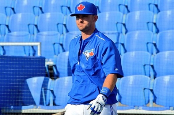 C Mike Reeves (Peterborough, Ont.) had an eighth-inning double as the Dunedin Blue Jays rallied to beat the Brevard County Manatees 9-6. Photo: Alexis Brudnicki.