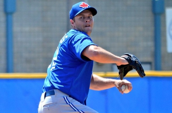 LHP Andrew Albers (North Battleford, Sask.) was added to the Blue Jays bullpen before Friday night's game in Cleveland. Albers began the season at triple-A Buffalo. LHP Daniel Norris was demoted to Buffalo. Photos by Alexis Brudnicki.