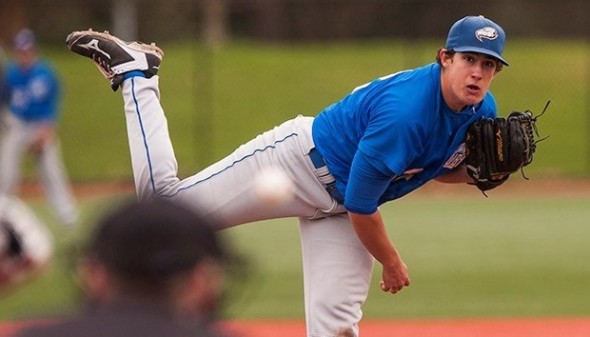 RHP Alex Webb (Surrey, BC) of the UBC Thunderbirds earned NAIA West Group Pitcher of the Year honor going 9-3 with a 2.22 ERA. He struck out 95 in 81 innings.