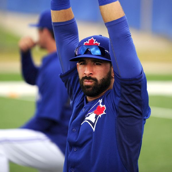 * Jose Bautista is reaching to get back into the Blue Jays lineup as the every day right fielder and not the DH. His sore shoulder has prevented him from playing right field since April 21 ....