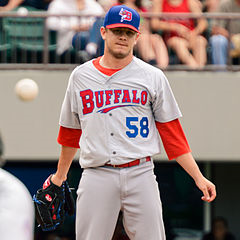 * LHP Rob Rasmussen worked two scoreless for the win as the triple-A Buffalo Bisons beat the Toledo Mud Hens 12-4. ....