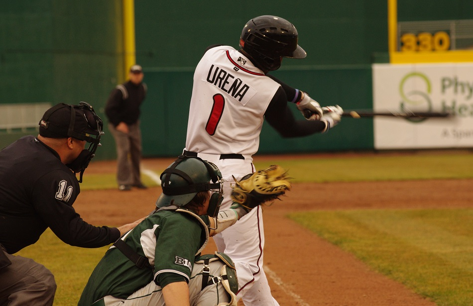 *  Richard Urena had a day as the class-A Lansing Lugnuts thumped Fort Wayne with a single, double and a two-run homer in a win over Fort Wayne. ....