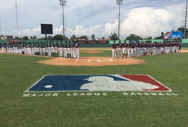 The Canadian Junior National Team finished up its tour of the Dominican with a 9-2 win over a team of MLB Prospects who are eligible to sign on July 2.