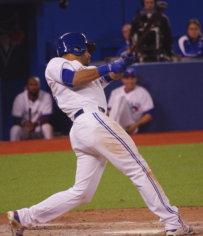After opening the season as the Blue Jays CF, Dalton Pompey was demoted from triple-A Buffalo to double-A New Hampshire.