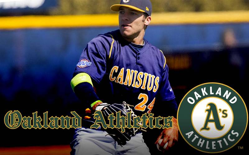 OF Brett Siddall (Windsor, Ont.) carried on a family tradition when he played well enough with the Canisius Golden Griffs to be drafted by the Oakland A's in the 13th round. His pop Joeseph is a former big-league catcher who is a broadcaster with the Jays.