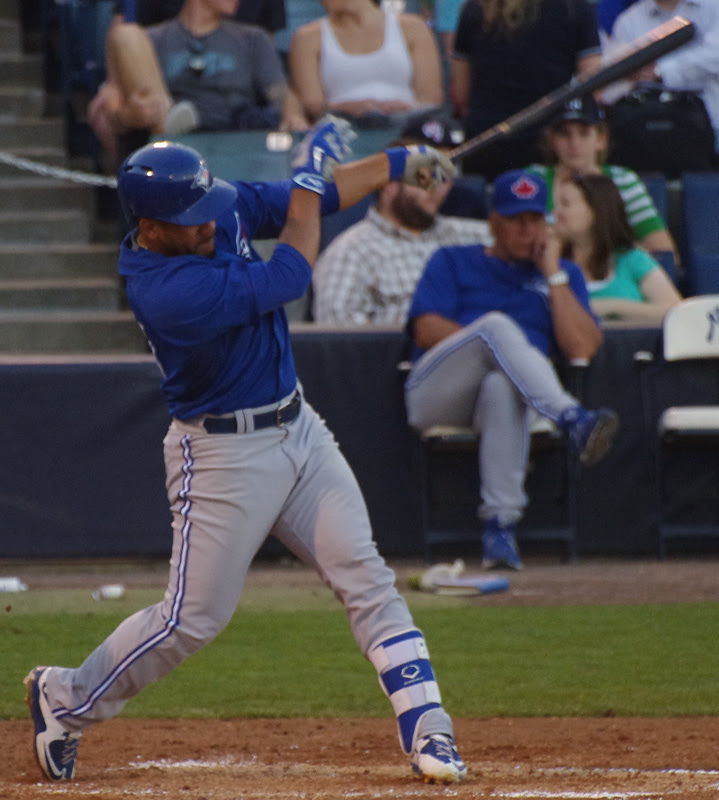 2B Devon Travis returned from a rehab assignment at triple-A Buffalo. Photo: Jay Blue.