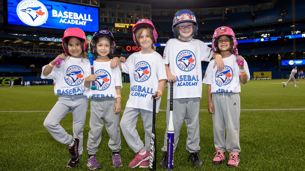 The Blue Jays Baseball Academy hosted 185 players at the third annual Girls Day at Rogers Centre.