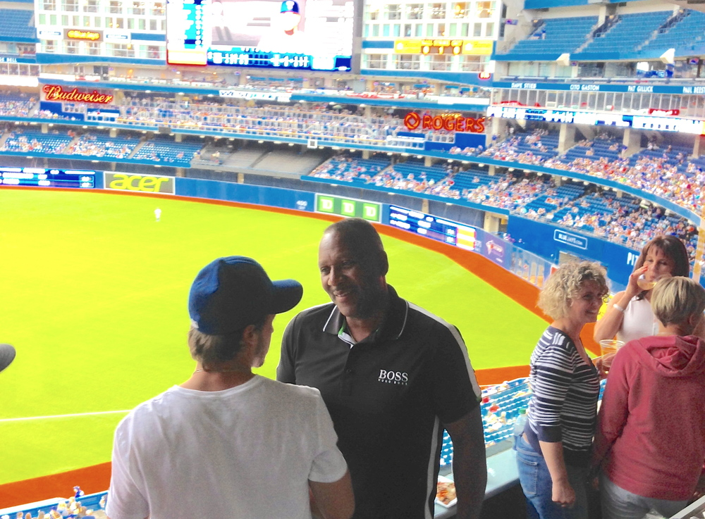 SECTION 108 TALKS BASEBALL WITH BLUE JAYS LEGEND, JOE CARTER