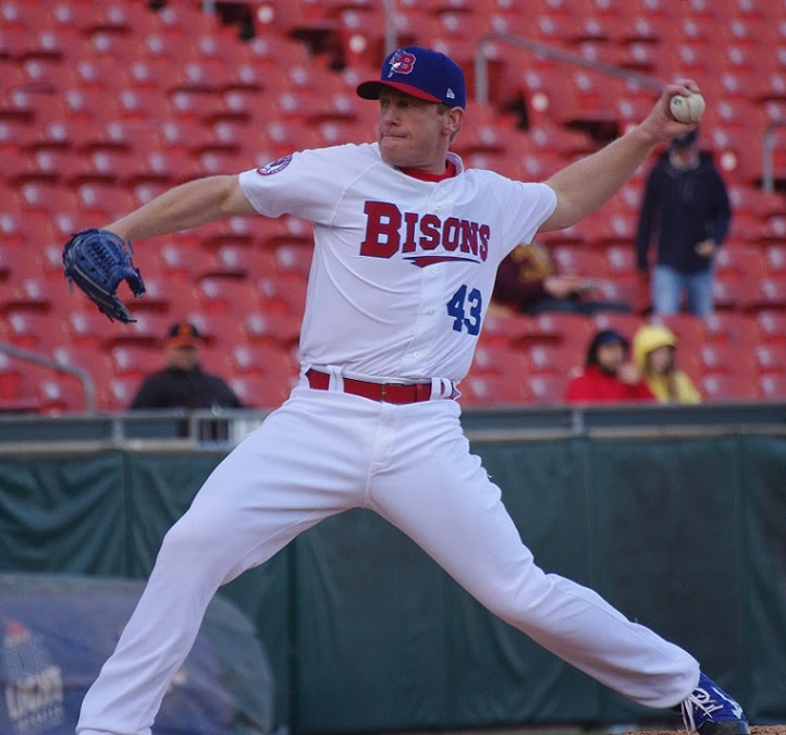 LHP Randy Wolf pitched 7 2/3 scoreless for triple-A Buffalo combining on a shut out of Syracuse.