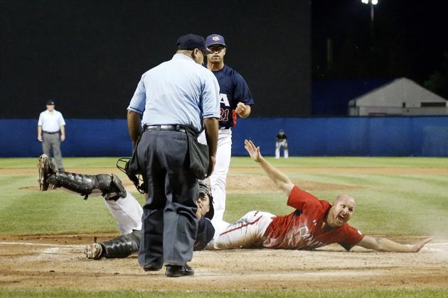 ... Peter Orr, who scored the game-winning run in the 10th inning to win the gold for Canada in the Pan Am Games.