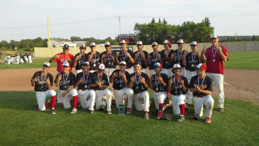 Three fingers up for the Okotoks Dawgs who won the Alberta bantam championship and will advance to the nationals ... just like the peewee and the midgets, while the college Dawgs won their WMBL opener.