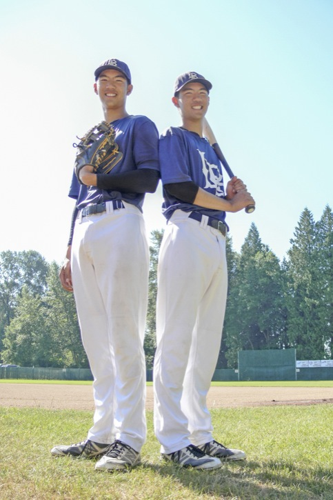 Twins Yi-An and Yi-Fan Pan of the Langley Blaze were on the latest list of high schoolers named to the third annual Tournament 12. Photo: Dan Ferguson/Langley Times.