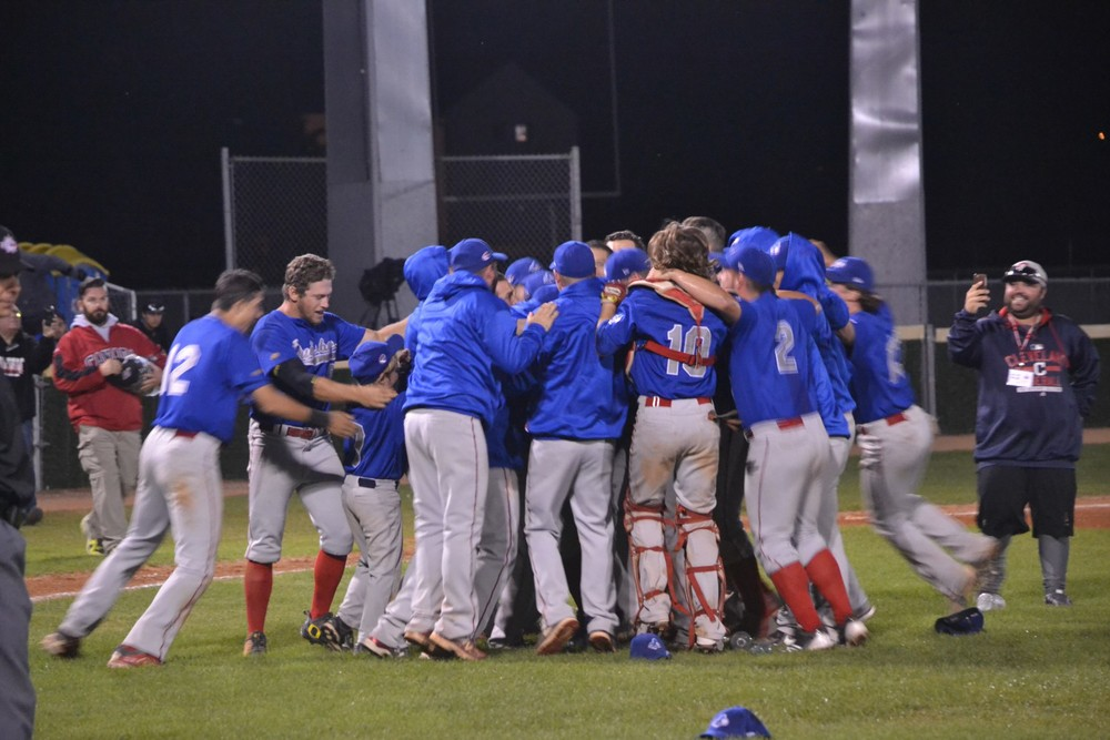 Québec won gold at the 21U championship defeating Ontario 1, 10-7 at in Regina, Sssk.