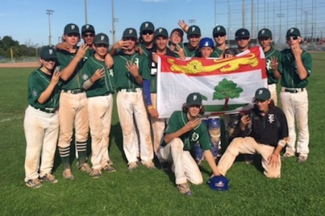 PEI won its first medal since 1977 when it defeated Manitoba at the 15U nationals in Vaughan.