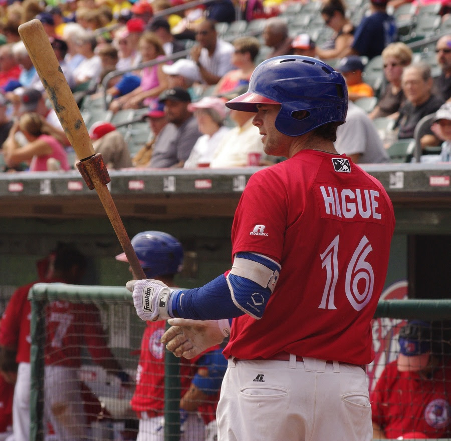 Matt Hague was the Webster award winner at triple-A Buffalo. Photo: Jay Blue.