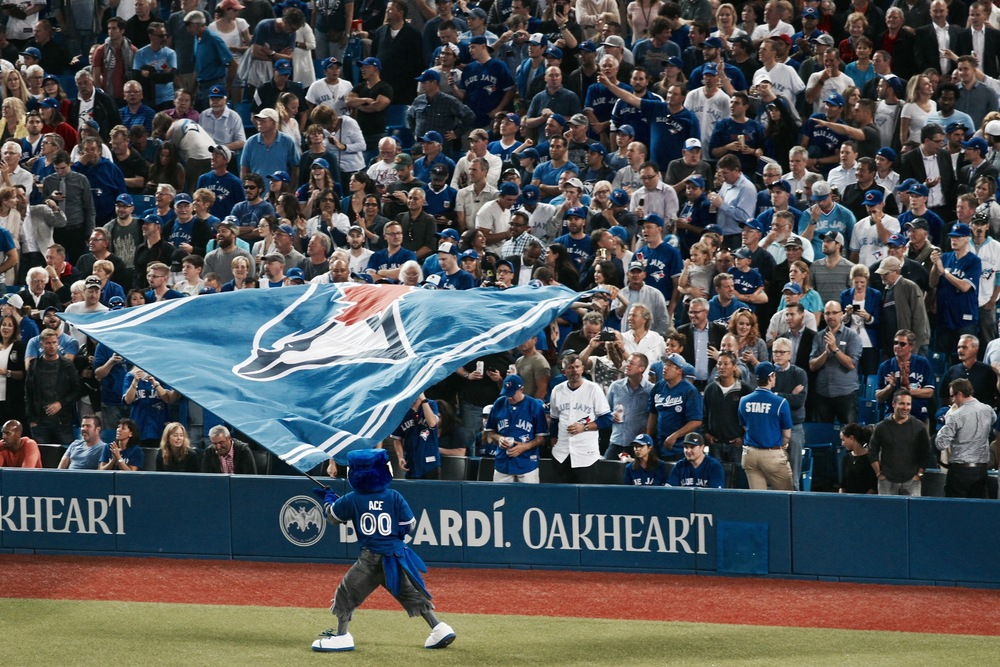 JAYS FANS ARE GEARING UP FOR THEIR FIRST POSTSEASON GAME IN 22 YEARS. BUT BEFORE THE FIRST PITCH IS THROWN ON THURSDAY, HERE'S A REMINDER OF JUST HOW FAR THIS TEAM HAS COME. (photo: JEREMY KING)