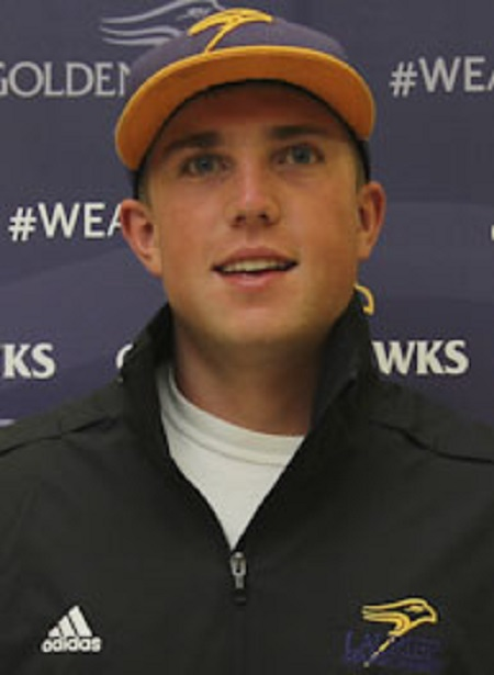 Jonathan Brouse became Laurier's all time hits leader passing Ryan Panas with his 101st hit.