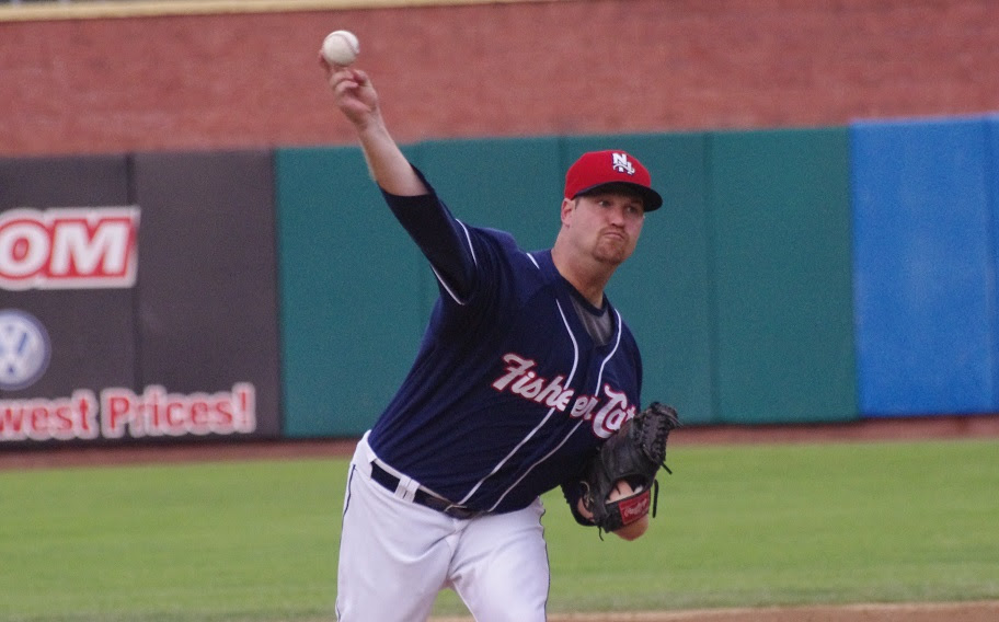 RHP Scott Copeland, who won 11 games at triple-A Buffalo (11-6, 2.95 in 20 starts) is one of 19 Jays minor leaguers to file for free agency. Photo: Jay Blue.