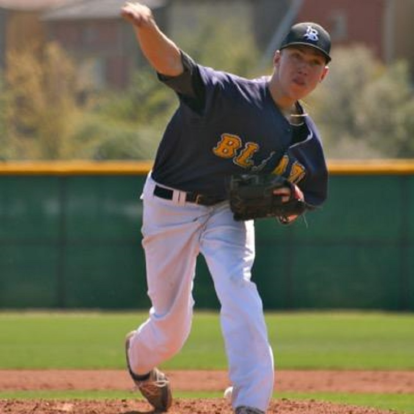 RHP Nick Trogrlic-Iverson (Oakville, Ont.) impressed enough in Jupiter to earn a scholarship to Central Arizona.