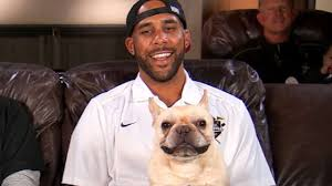 LHP David Price with his doggie Astro, hung out at Vandy Wednesday for the Cy Young award presentations.