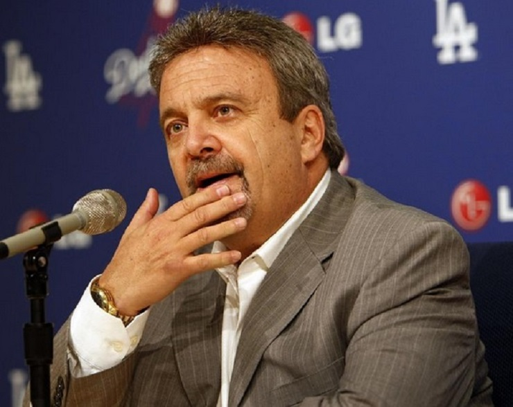 Former Los Angeles Dodgers GM was interviewed by the Blue Jays for the president's job before Mark Shapiro was hired.