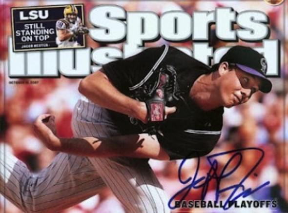 It all started for LHP Jeff Francis with the North Delta Blue Jays, then he moved on the University of British Columbia Thunderbirds, he was drafted ninth over-all by the Colorado Rockies in 2002 and now has decided to retire.