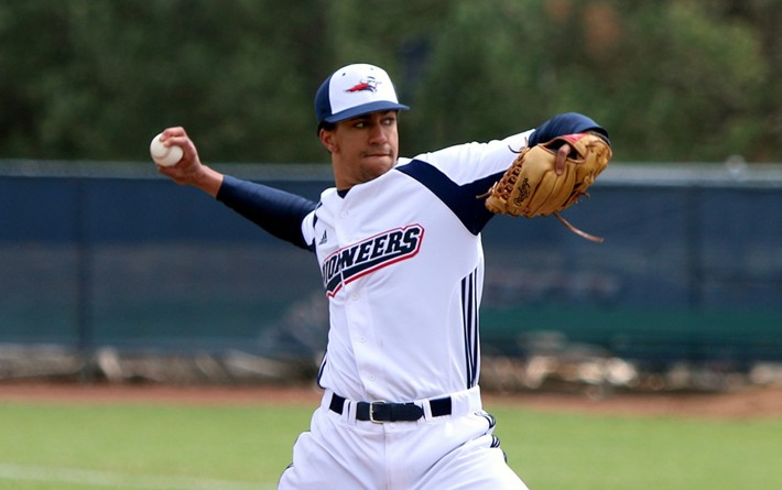 RHP Phillipe Graham (St. Chrysostome, Que.) pitched a no hitter in a 1-0 MidAmerica Nazarene Pioneers win.