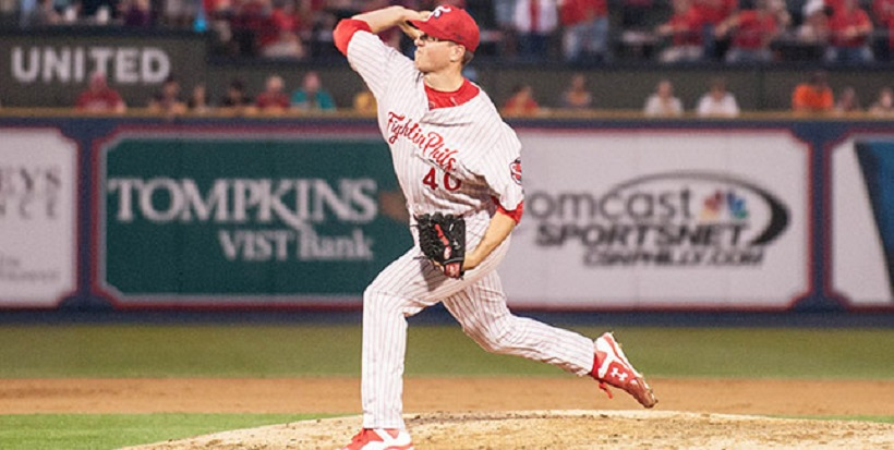 RHP Nick Pivetta (Victoria, BC) was acquired by the Philadelphia Phillies and sent to double-A Reading after Jonathan Paplebon was sent to the Washington Nationals.