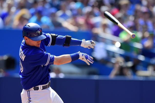 Josh Donaldson and the Blue Jays struck-out at an unprecedented rate down in Tampa Bay - but don't expect that trend to continue (photo: Frank Gunn/The Canadian Press).