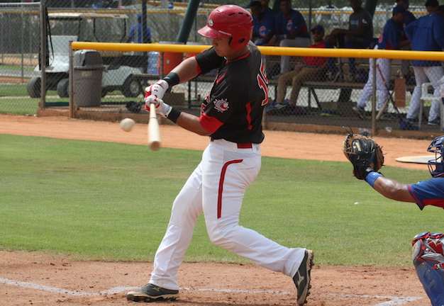 Andrew Yerzy (Toronto, Ont.) had a pair of hits as the Canadian Junior National Team lost to the Houston Astros extended spring team.
