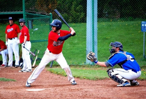INF Mark Capone hit .357 with 22 RBIs for the Etobicoke Rangers last year.