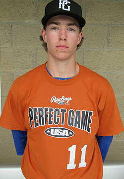 INF Ethan Cummins (Mississauga, Ont.) of the Ontario Blue Jays was ranked eighth.