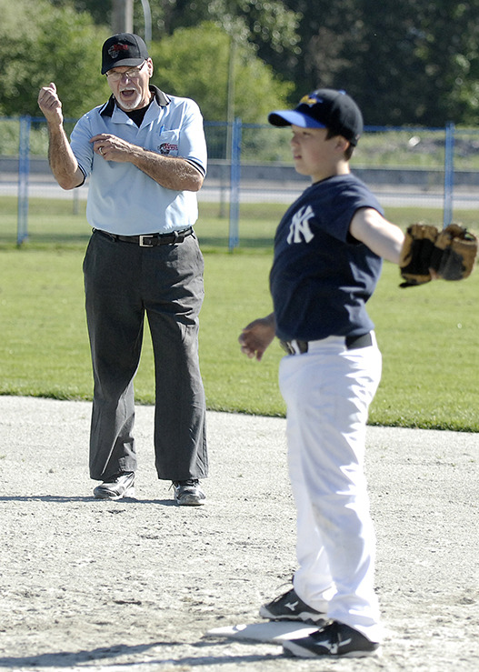 Larry Walker, 78, the father of the famous former Montreal Expo whom he gave his name, is still involved in Ridge Meadows Minor Baseball. Photo: Colleen Flanagan