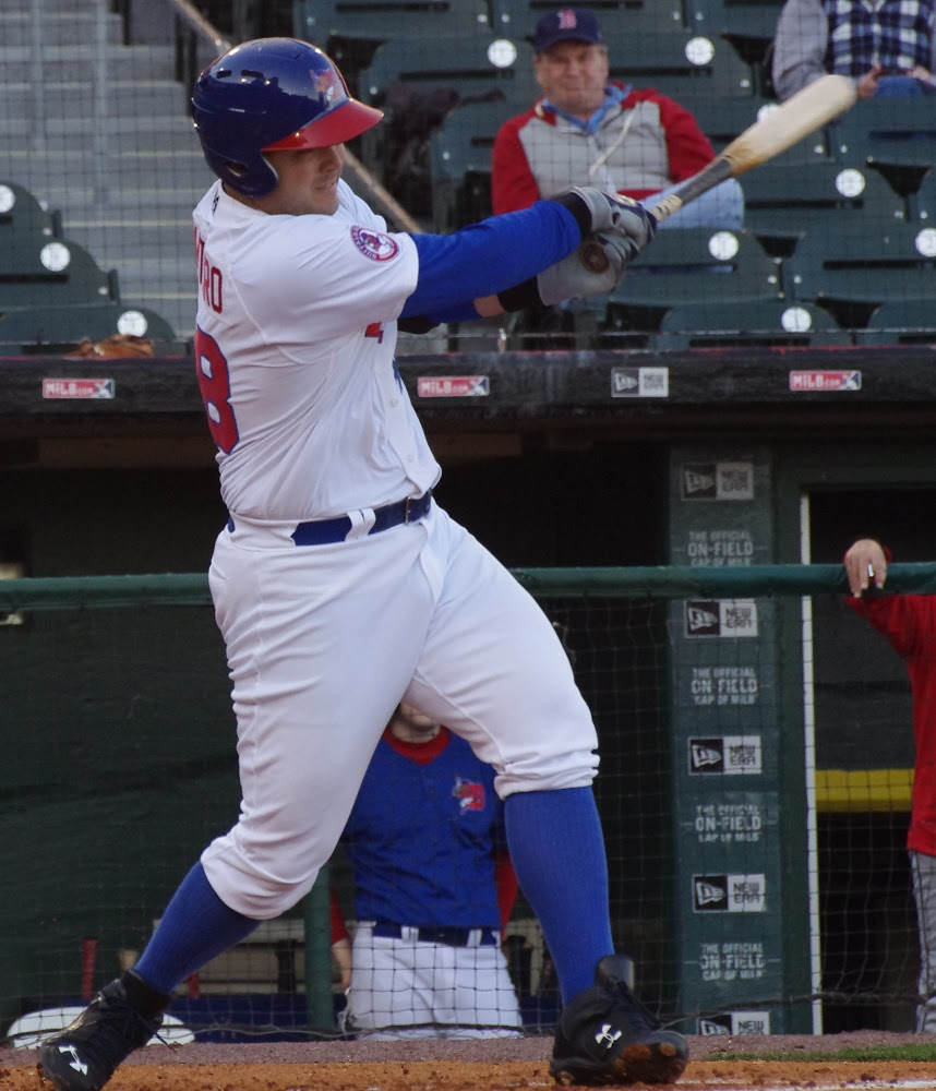 Jesus Montero was 3-for-4, with a double and two RBIs as triple-A Buffalo beat Syracuse. Photo: Jay Blue.
