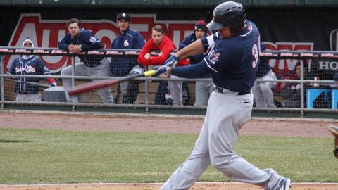 Rowdy Tellez doubled, homered and knocked in four runs in a win for double-A New Hampshire.
