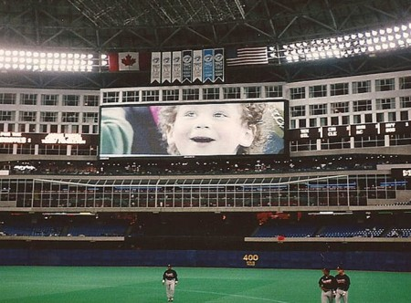 maxx on jumbotron