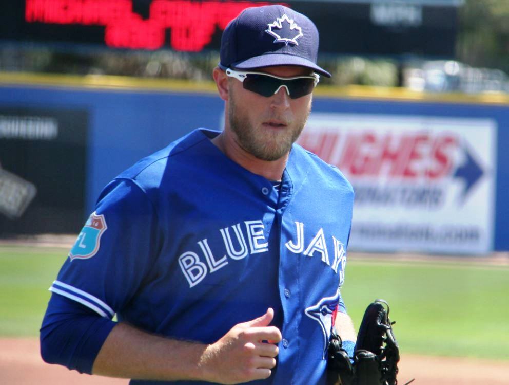 Michael_saunders_2016_spring_training