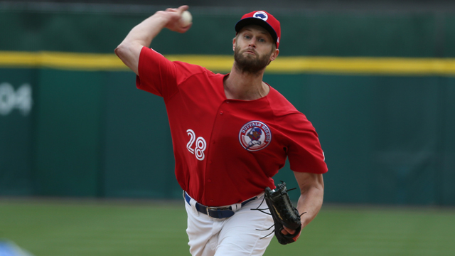 RHP Chris Leroux (Mississauga, Ont.) allowed zero earned runs in 13 innings with triple-A Buffalo.