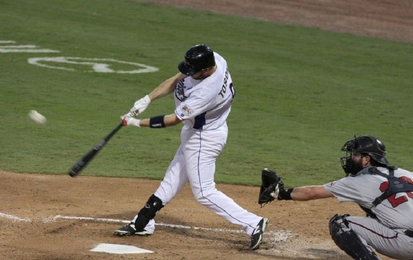 Rene Tosoni (Coquitlam, BC) of the Sugar Land Skeeters.